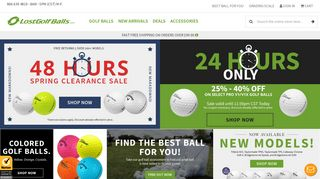 Lostgolfballs Discount Codes & Coupon codes