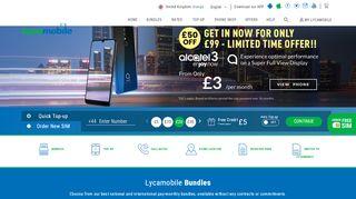 Lycamobile Promo Code & Discount codes