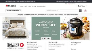 Macy's Coupons & Promo codes