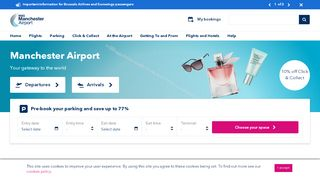 Manchester Airport Parking Discount Code & Coupon codes