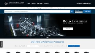 Mercedes Parts Center Coupon & Promo codes