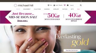 Michael Hill Coupon & Promo codes