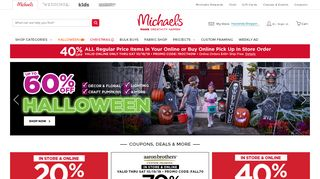 Michaels Coupon 2018 & Promo codes