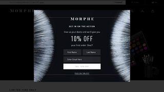 Morphe Coupon Code & Promo codes