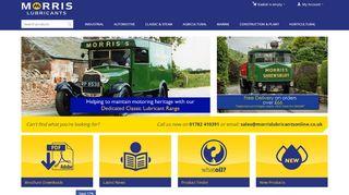 Morrislubricantsonline.co.uk Coupons & Promo codes