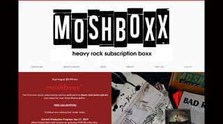 Moshboxx.com Coupons & Promo codes