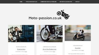 Moto-Passion.co.uk Coupons & Promo codes