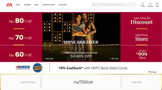 Coupon Codes For Myntra Coupons & Promo codes