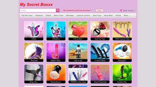 Mysecretboxxx.com Coupons & Promo codes