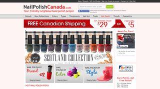 Nail Polish Canada Coupon & Promo codes