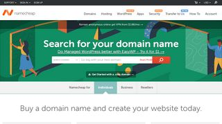 Namecheap Domain Coupon & Promo codes