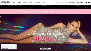 Nasty Gal First Time Promo Code & Discount codes