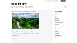 Natureskinstore.com Coupons & Promo codes
