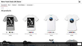 Newyorkowlsuk.spreadshirt.net Coupons & Promo codes