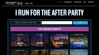 Night Nation Run Coupon & Promo codes