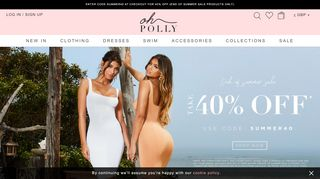 Oh Polly Discount & Coupon codes