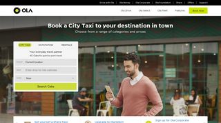 Ola Free Ride Coupon First Ride & Promo codes