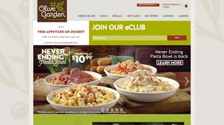 Olive Garden Promo Code May 2018 & Discount codes