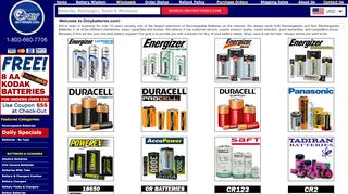 Only Batteries Coupon & Promo codes