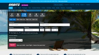 Orbitz Coupon & Promo codes