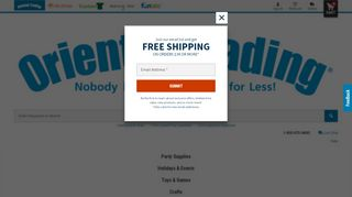 Oriental Trading Coupon Cabin & Promo codes
