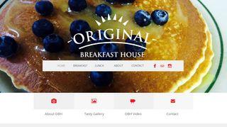 Original Breakfast House Coupon & Promo codes