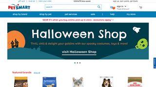 PetSmart stores coupon