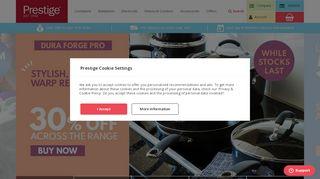 Prestige.co.uk Coupons & Promo codes