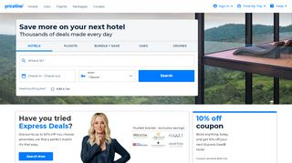Priceline Coupons For Car Rentals & Promo codes