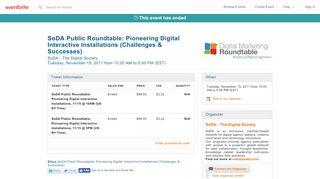 Publicdigitaloohsodadmr.eventbrite.com Coupons & Promo codes