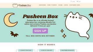 Pusheen Box Discount Code & Coupon codes