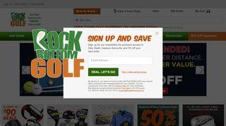 Rock Bottom Golf Coupon & Promo codes