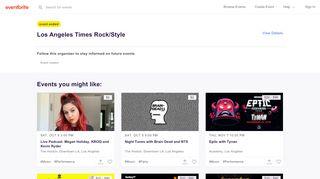 Rockstyle2013-Twsm.eventbrite.com Coupons & Promo codes