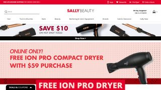 Sally Beauty stores coupon