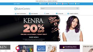 Salon Centric Promo Code & Discount codes