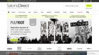 Salons Direct Vat Free Code Coupons & Promo codes