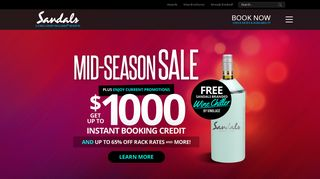 Sandals 65 Off Coupons & Promo codes