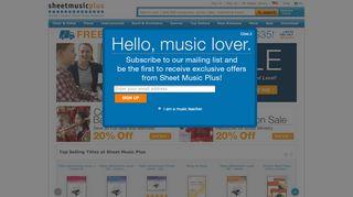 Sheet Music Plus Coupon Code & Promo codes