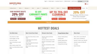 Sheplers Coupon & Promo codes