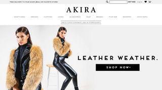 Shop Akira Promo Code & Discount codes