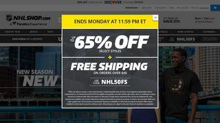 Nhl Shop Coupon Code & Promo codes