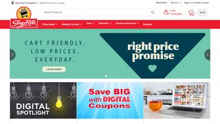 Shoprite From Home Coupon 2018 & Promo codes