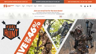 Sportsman Outdoor Superstore Coupon & Promo codes