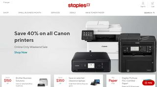 Staples Canada Coupon Code $25 Off $75 & Promo codes