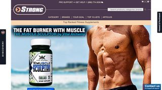 Strong Supplements Promo Code & Discount codes