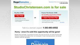 Studiochristensen.com Coupons & Promo codes