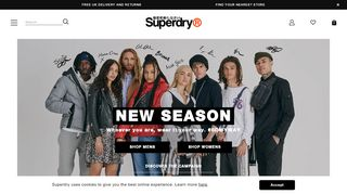 Superdry Coupon Codes & Promo codes
