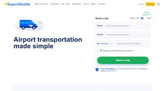 Supershuttle Aaa Discount & Coupon codes