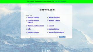 Tdbstore.com Coupons & Promo codes