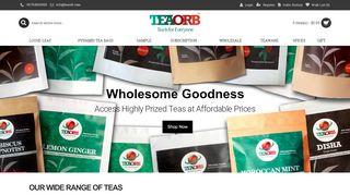 Teaorb.com Coupons & Promo codes